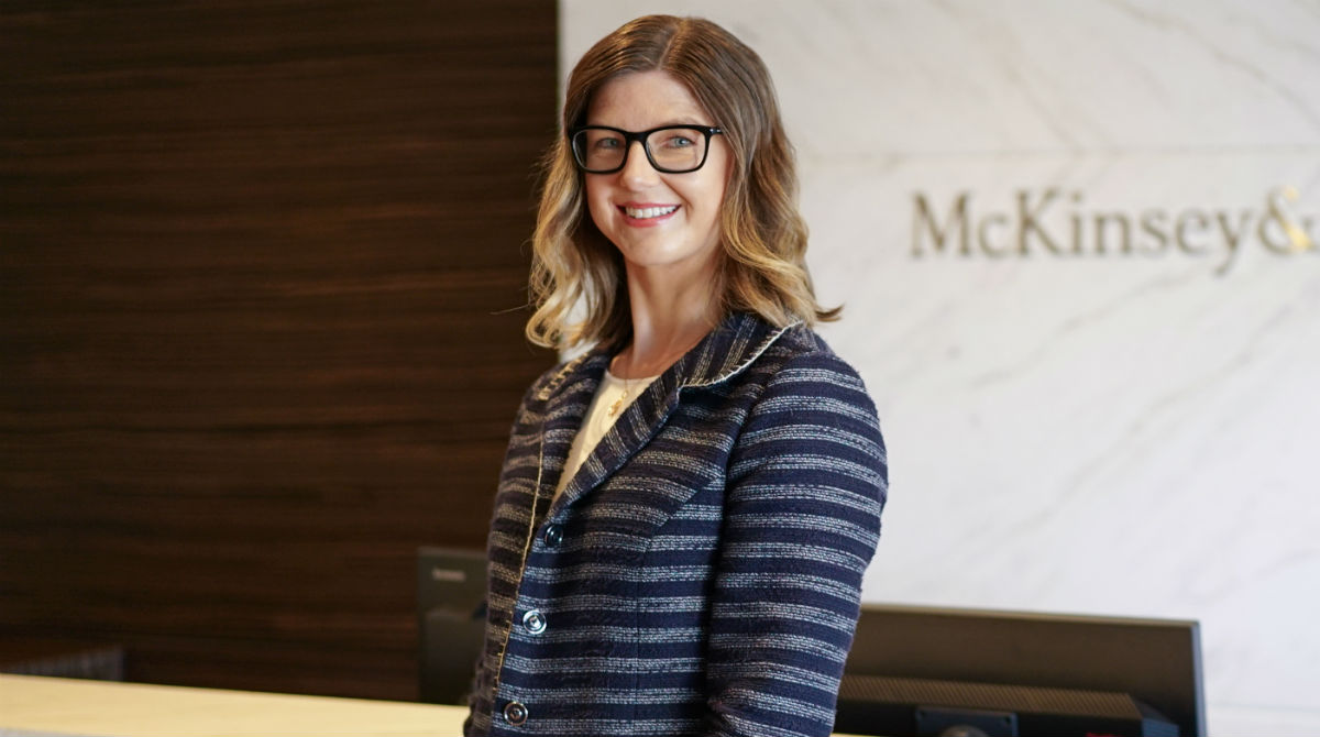 Melbourne Business School MBA graduate Christine Crawshaw